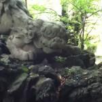 氷川神社 赤阪 境内 狛犬