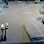 Iリッツ 朝食テーブル