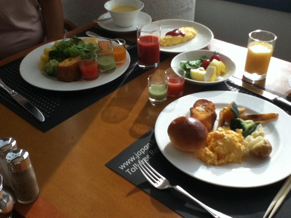東京横浜ホテル朝食会&早朝参拝_インターコンチネンタルホテル朝食